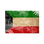 Kuwait Flag Rectangle Magnet