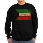 Kuwait Flag Sweatshirt (dark)