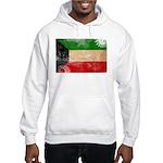 Kuwait Flag Hooded Sweatshirt