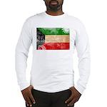 Kuwait Flag Long Sleeve T-Shirt