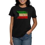 Kuwait Flag Women's Dark T-Shirt