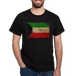 Kuwait Flag Dark T-Shirt