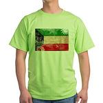 Kuwait Flag Green T-Shirt