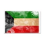 Kuwait Flag Car Magnet 20 x 12