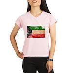 Kuwait Flag Performance Dry T-Shirt