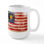 Malaysia Flag Large Mug