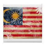 Malaysia Flag Tile Coaster