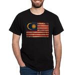 Malaysia Flag Dark T-Shirt