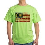Malaysia Flag Green T-Shirt