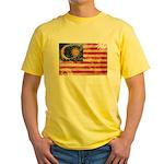 Malaysia Flag Yellow T-Shirt