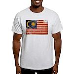Malaysia Flag Light T-Shirt