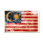 Malaysia Flag Car Magnet 20 x 12