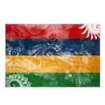 Mauritius Flag Postcards (Package of 8)