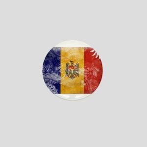 Moldova Flag Mini Button