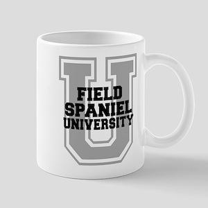Field Spaniel UNIVERSITY Mug