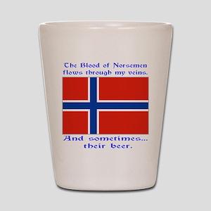Blood of Norsemen Shot Glass