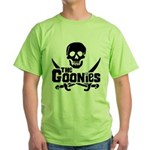 Goonies Logo Green T-Shirt
