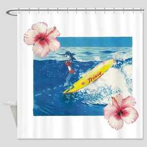Surf Trixie Shower Curtain
