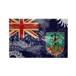 Montserrat Flag Rectangle Magnet (100 pack)