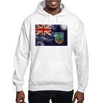 Montserrat Flag Hooded Sweatshirt