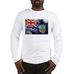 Montserrat Flag Long Sleeve T-Shirt