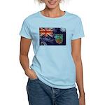 Montserrat Flag Women's Light T-Shirt