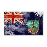Montserrat Flag 22x14 Wall Peel