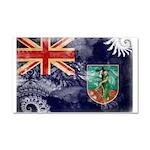 Montserrat Flag Car Magnet 20 x 12