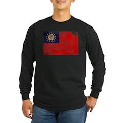 Myanmar Flag T