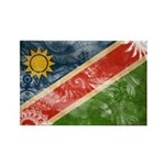 Namibia Flag Rectangle Magnet (100 pack)