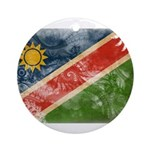 Namibia Flag Ornament (Round)