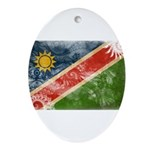 Namibia Flag Ornament (Oval)