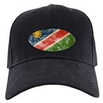 Namibia Flag Black Cap