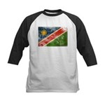 Namibia Flag Kids Baseball Jersey