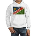 Namibia Flag Hooded Sweatshirt