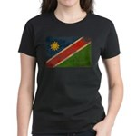 Namibia Flag Women's Dark T-Shirt