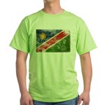 Namibia Flag Green T-Shirt