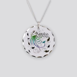 Team Everdeen Necklace Circle Charm