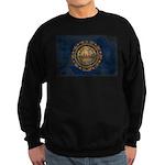 New Hampshire Flag Sweatshirt (dark)