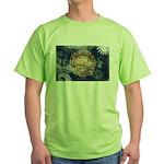 New Hampshire Flag Green T-Shirt