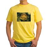 New Hampshire Flag Yellow T-Shirt