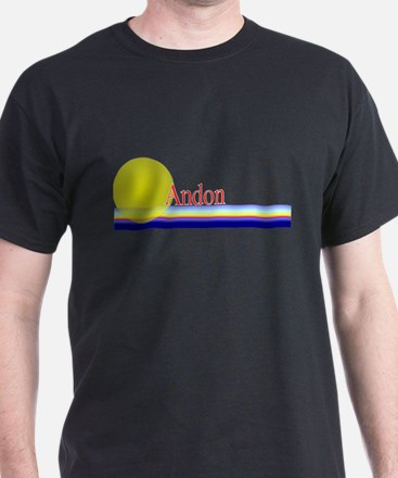 Andon Black T-Shirt