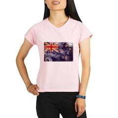 New Zealand Flag Performance Dry T-Shirt
