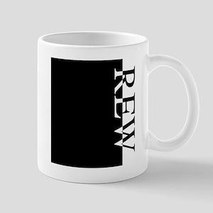 REW Typography Mug