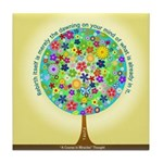 ACIM Keepsake Tile Coaster- Rebirth is the dawning
