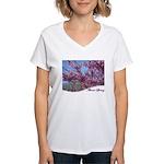 Illinois spring Women's V-Neck T-Shirt