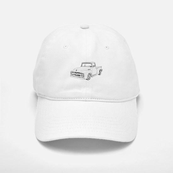 1956 Ford truck Baseball Baseball Cap