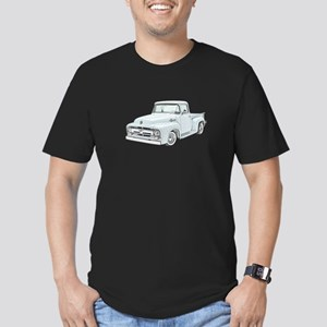 1956 Ford truck Men's Fitted T-Shirt (dark)