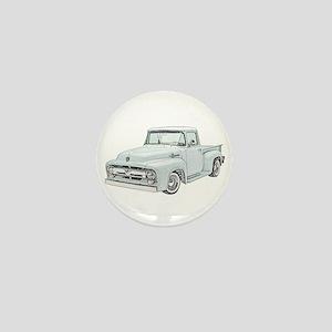 1956 Ford truck Mini Button