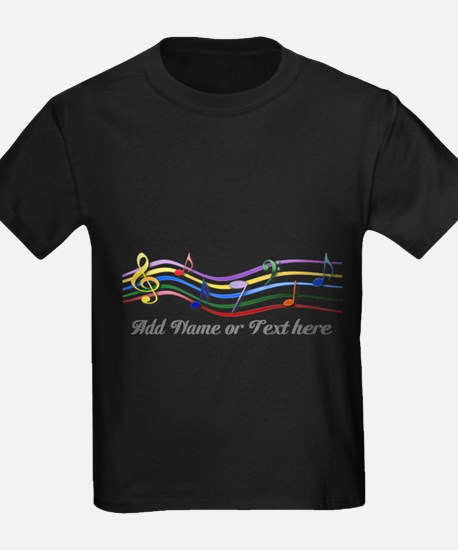 Personalized Rainbow Musical T